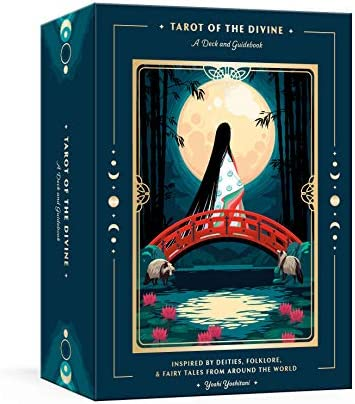 Tarot of the Divine A Deck and Guidebook Inspired by Deities Folklore and Fairy Tales from Around product image