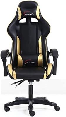 Gaming Office Chair, High-Back Racing Chair PU Leather Chair Reclining Computer Desk Chair