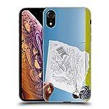 Head Case Designs Licenciado Oficialmente Ben Heine telescopio Lápiz vs cámara Carcasa de Gel de Silicona Compatible con Apple iPhone XR