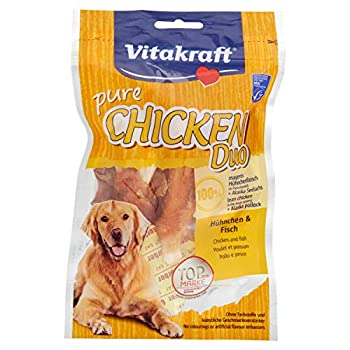 Vitakraft - 16627 - Duo Poisson et Poulet, 80 g, Paquet de 1