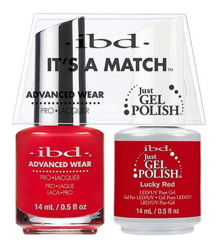 IBD - It's A Match Duo Pack - Lucky Red - 0.5oz / 14ml Each