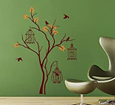 Sticker Studio Tree with Causes Wall Sticker (PVC Vinyl,Size -60 cm x 83 cm)