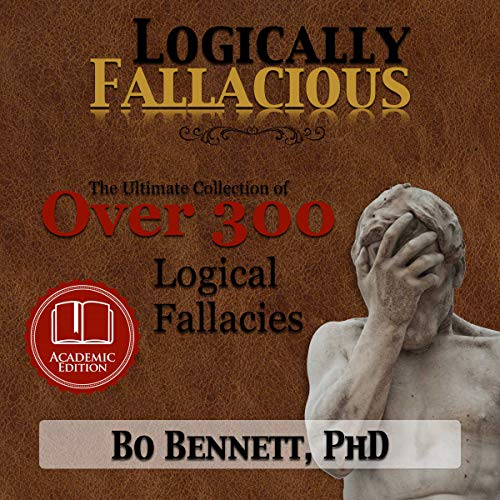 Logically Fallacious audiobook cover art