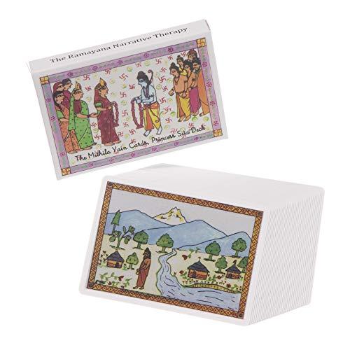 ミティラー=ヤイン・カード シーター妃のデッキ/ラーマヤナ物語占いカード・シリーズ Mithila Yain Cards, Ramayana Cards Series