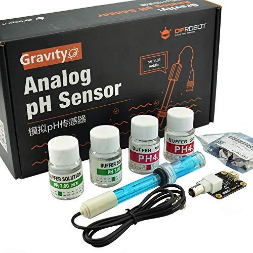 Gravity: Analoger pH-Sensor/Messgerät V2 für Arduino – für Aquaponik oder Aquarien oder andere Materialien, die Messungen benötigen