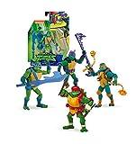 Ninja Turtles Tortugas Ninja Figura Básica, 8 modelos diferentes, serie 1 (Famosa TUAB0A11), surtido: colores aleatorios