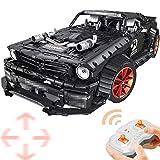 Tosbess Technic Ford Mustang Voiture de Sport- 2,4Ghz RC 1:10 Voiture avec Moteur et Télécommande - 3181 Pièces Jeu de Construction Compatible avec Lego Technic