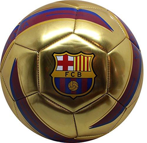 Voetbal, voetbal, voetbal, voetbal, voetbal, kindervoetbal, maat 5 - fanartikelen accessoires heren FC Barcelona - Barca goud kinderen messi decoratie decoratie geschenken