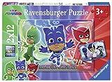Ravensburger Puzzle - Pj Mask Puzzle 2 X 12 Pz, Puzzle Para Niños
