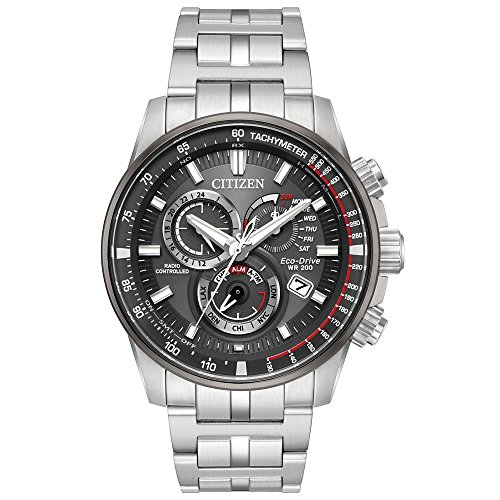 Citizen PCAT Eco-Drive Grey Dial Men's Watch AT4129-57H