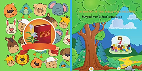 66 Books Bible Verses for children from age 5 up: Each Book one verse (English Edition)