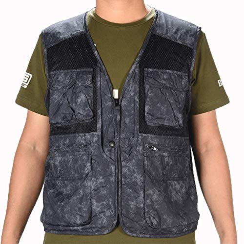 Vest heren vest tas vest mode vest multi-Pocket vest outdoor jas