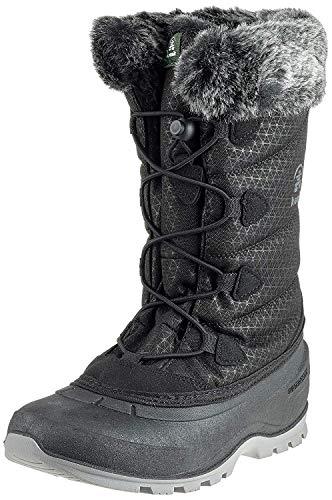 Kamik Women's Momentum2 Snow Boot, Black (Original) Size 6