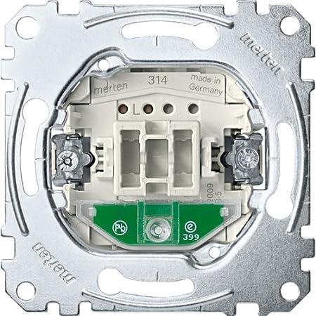 Merten Beleuchtungsmodul MEG3901-0006 100-230V rot LED-Beleuchtungs-Modul f/ür Schalter//Taster 100-230 V