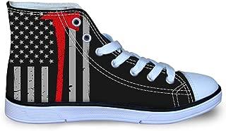 Owaheson Lace-up Sneaker Training Shoe Mens Womens Lebanon Flag