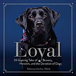 Image: Loyal: 38 Inspiring Tales of Bravery, Heroism, and the Devotion of Dogs | Hardcove: 160 pages | by Rebecca Ascher-Walsh (Author). Publisher: National Geographic (March 7, 2017)