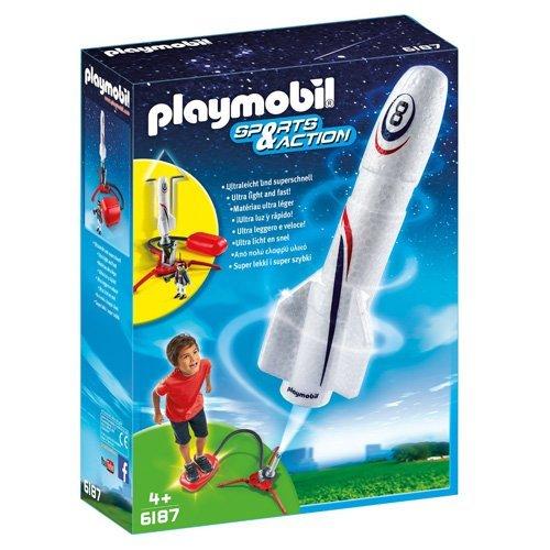PLAYMOBIL - Cohete con propulsor (61870)
