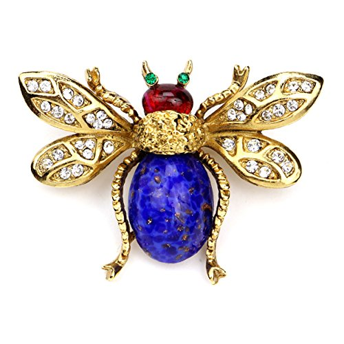 Ben-Amun Jewelry Bugs Collection Brooches Fashion Jewelry for Woman, Bee Bug (27501)
