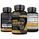 Beard Hair Growth Support Supplement-Achieve a Longer, Thicker, Fuller Beard. Grow a Manlier