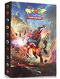 Album Compatible Con Pokemon, Album Compatible Con Pokemon Para Cartas, Álbum de Pokemon, Carpeta compatible con Cartas Pokemon, Album compatible con Cartas de Pokemon(Incineroar)