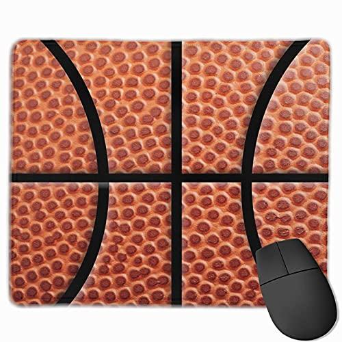 N\A Diseño de Baloncesto para la Cueva del Hombre decoración y Ropa para fanáticos de los Deportes Borde Cosido Alfombrilla de ratón para Juegos portátil Alfombrilla de ratón para computadora