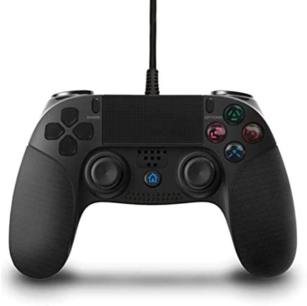 PS 4 Controller, Gamepad Joystick Controller PC Controller with Dualshock USB Rechargeable for Playstation 4 / PS4 / PS3 / PC GR61 (Made in Third Party)