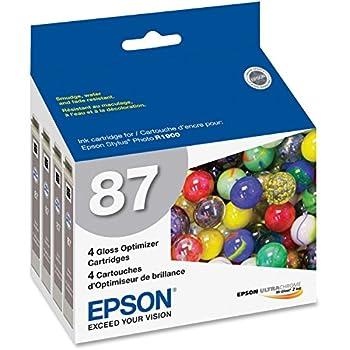 Epson America T087020 Gloss Optimizer Ink Cart R1900