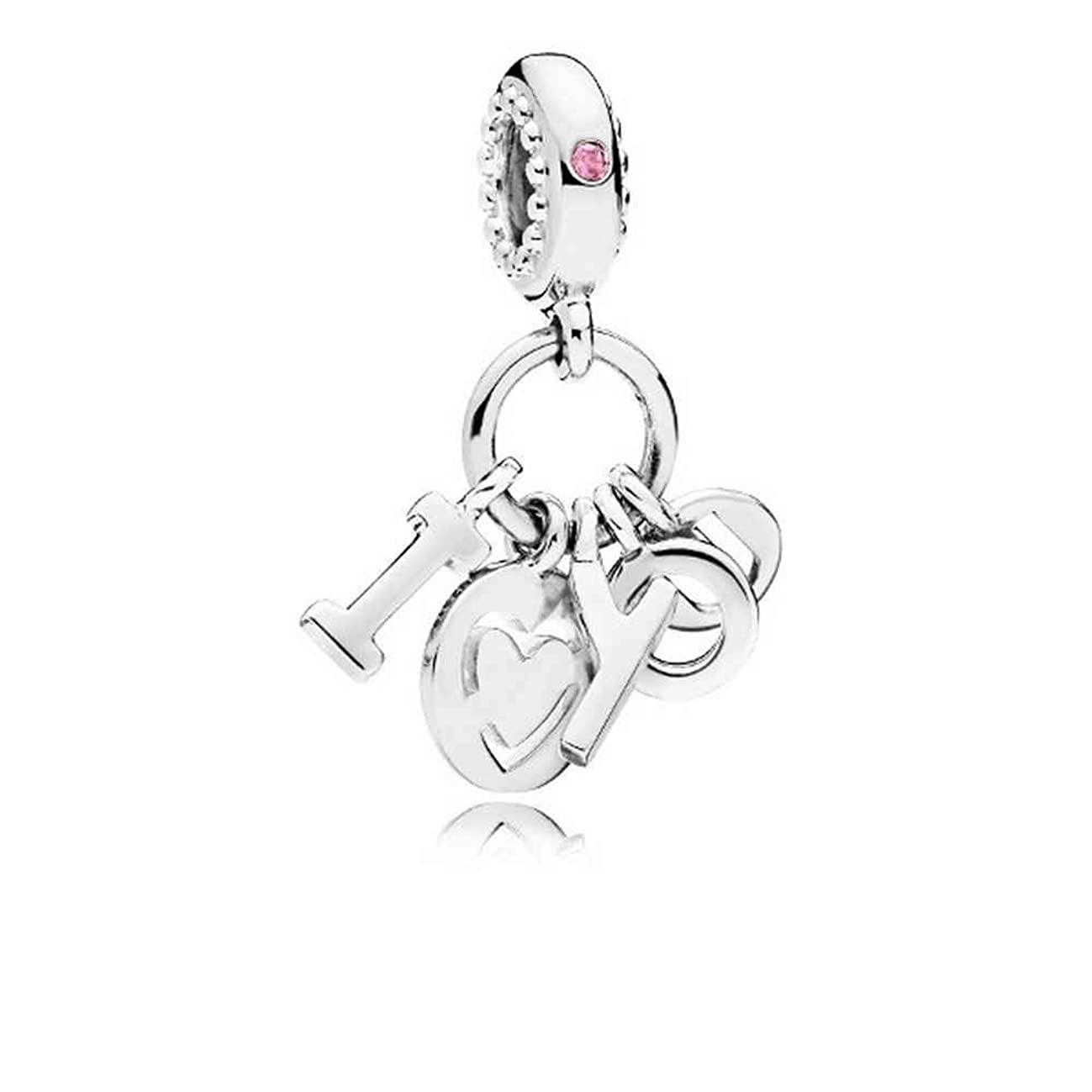 Pandora I Love You Dangle Charm 796596FPC