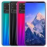 Smartphone S20 Pro Smartphone com tela de 5,8 polegadas 512M + 4G Smartphone Android 3D Vidro folheado a tampa traseira azul