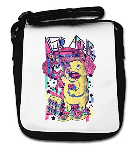 Disco Apocalypse Boom Box Bear Small Shoulder Bag