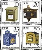 Prophila Collection DDR 2924-2927 Viererblock (kompl.Ausg.) 1985 Briefkästen (Briefmarken für Sammler)