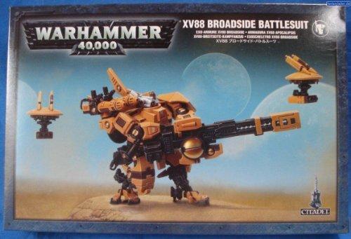 Warhammer 40,000 Tau XV88 Broadside Battlesuit (2013, 3 figures) by Games Workshop