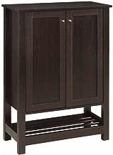 Coaster Home Furnishings 2-Door Shoe Cabinet Cappuccino