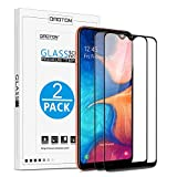 OMOTON [2 Pezzi Pellicola Protettiva Compatibile con Samsung Galaxy A10E/A20E in Vetro Temperato 3D Edge Copertura Completa Durezza 9H Anti-Graffi Anti-Impronte Senza Bolle