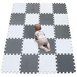 YIMINYUER Tapis Mousse bébé Puzzle de Sol Bebe Tapis pour Dalle Jeu Enfant R01R12G301020