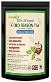Elderberry Flower Tea with Calendula, Yarrow, Rosehip, Thyme, Peppermint - Immunity Tea for Vitamin C Rich Respiratory and Immune System Booster, Sinus Relief, Cough & Cold Season Tea| Caffeine Free Loose Herbal Blend - 60 grams