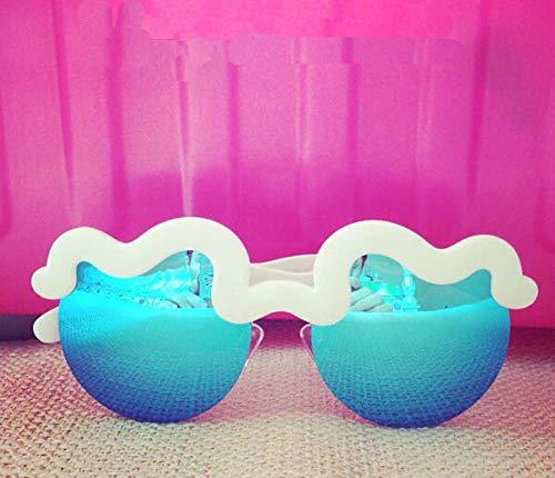BHLTG Sonnenbrille Persönlichkeit Nette Sonnenbrille Welle Wolke Marshmallow Design Sonnenbrille Outdoor Sports Tourism Eyepieces-2