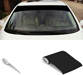 S WIDEN ELECTRIC Windshield Banner Sun Strip Decal Sticker | Car Sun Window Visor Stickers Blank | 6