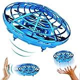 QKa Actionnés manuellement Drone - 5 Magique Capteurs Mains Libres Mini Drones Cadeaux Enfants Jouets Volants pour Les garçons...