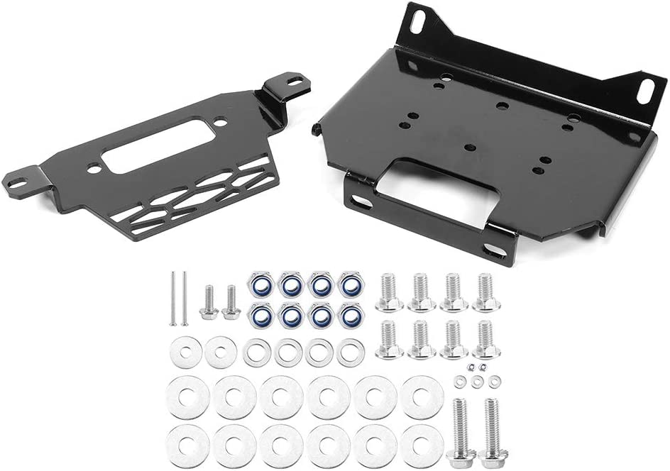 Dedication Yctze Mail order Winch Mount Bracket Fit 1000 for Plate