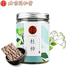 China food co. LTD.免运费TongRenTang(同仁堂 杜仲100g/罐 Eucommia Bark)非野生杜仲茶 自行打杜仲粉 正品包邮 杜仲皮泡酒
