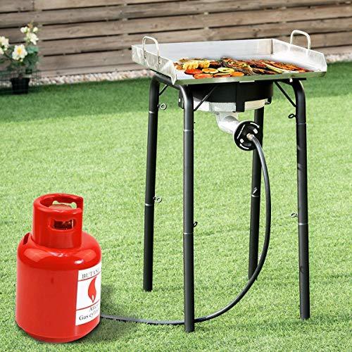 Why Choose Alek…Shop Enjoy Cooking Stoves 200,000-BTU Portable Single Burner Stove Propane Outdoor...