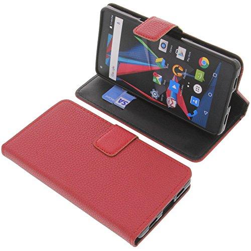 foto-kontor Tasche für Archos Diamond 2 Plus Book Style rot Schutz Hülle Buch