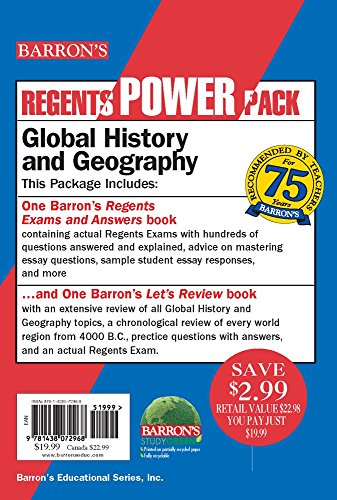 Global History And Geography Power Pack Regents Power Packs