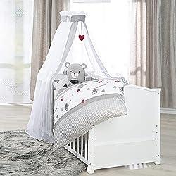 babybett komplett set bestandteile angebote. Black Bedroom Furniture Sets. Home Design Ideas