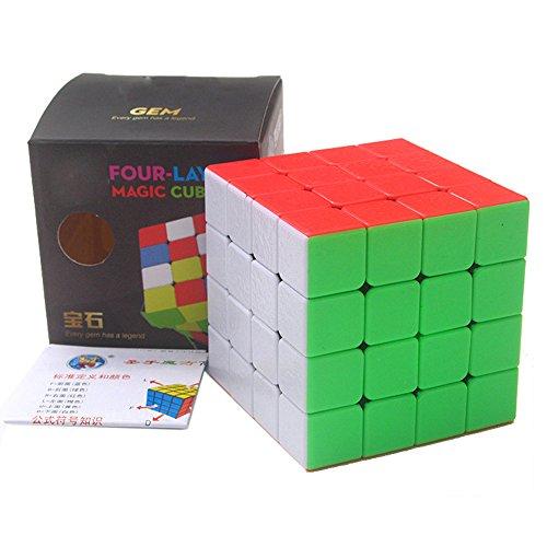 HJXDtech® Speed Magic Cube ! Shengshou Gem cubo Magico (4x4x4)