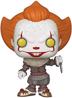 Funko- Pop Vinyl: Movies: It: Chapter 2 - Pennywise W/Blade Figura Coleccionable, Multicolor (40632)