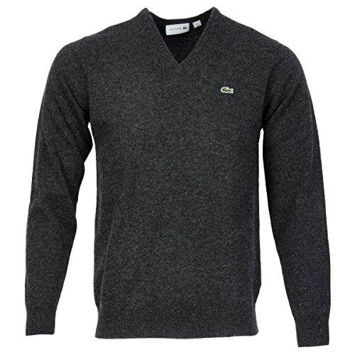 Lacoste 0 Suéter, Gris, XL para Hombre