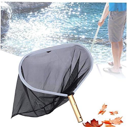 LAANCOO Pool Wasseraufbereiter Reinigungswerkzeug schwere Rechen Blätter und Tiefe Tasche Pool Netto-Blätter