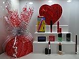 San Valentín Regalo Hamper para su ~ Rimmel London 10pc lujo belleza caja regalo Hamper papel de regalo ~ regalo Hamper para su .607.